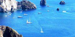 Die Faraglioni der Insel Lipari