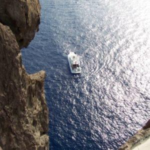 Il mare di Stromboli
