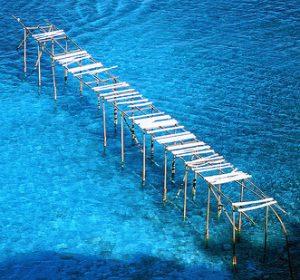 La mer de l'île de Lipari