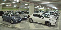 Крытая парковка в порту Милаццо, Эолийские острова