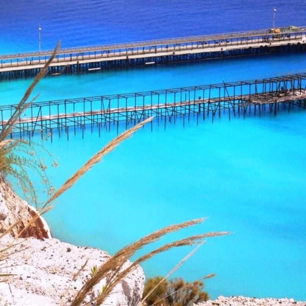 Pontile a Lipari, Isole Eolie