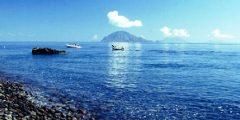 Hafen von Alicudi, Äolische Inseln