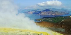 Excursión al cráter de la isla Vulcano.