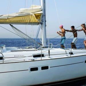 Эолийские острова — Эолийская хижина — Парусный спорт