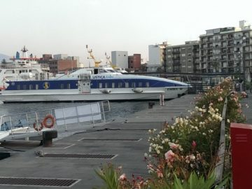 Port de Milazzo pour les îles de Lipari et Vulcano et toutes les autres îles Éoliennes