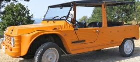 Citroen Mehari Rental - Island of Lipari - Aeolian Islands