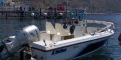 isole eolie noleggia barca 90cv lipari con patente nautica