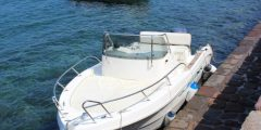 noleggio barca guida senza patente 40cv 5 posti lipari isole eolie