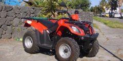noleggio quad 300cc vulcano isole eolie