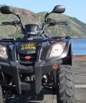 Island of Lipari - Aeolian Islands - Quad kymco 150 rental