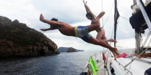 Week to the Aeolian Islands on a Sailing Boat - Cabin Charter Eolie Individual Boarding Cruise Holiday Sailing Boat - Weekly departures Saturday from Milazzo