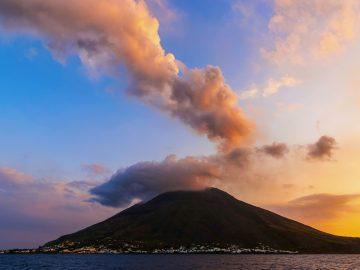 Экскурсии Остров Стромболи, Эолийские острова, Сицилия